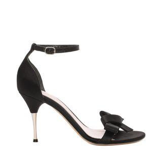 ALEXANDER MCQUEEN, Sandals, Satin Bow Sandal