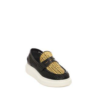 ALEXANDER MCQUEEN, Flats, Oversized Skate Loafer