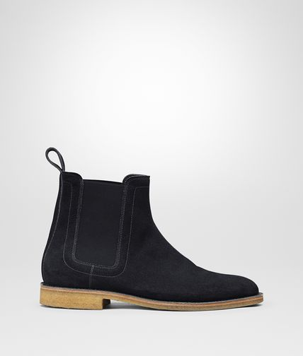 DESERT BOOT DARK NAVY EN DAIM