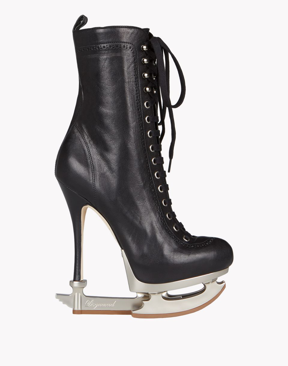 skate heel boots shoes Woman Dsquared2