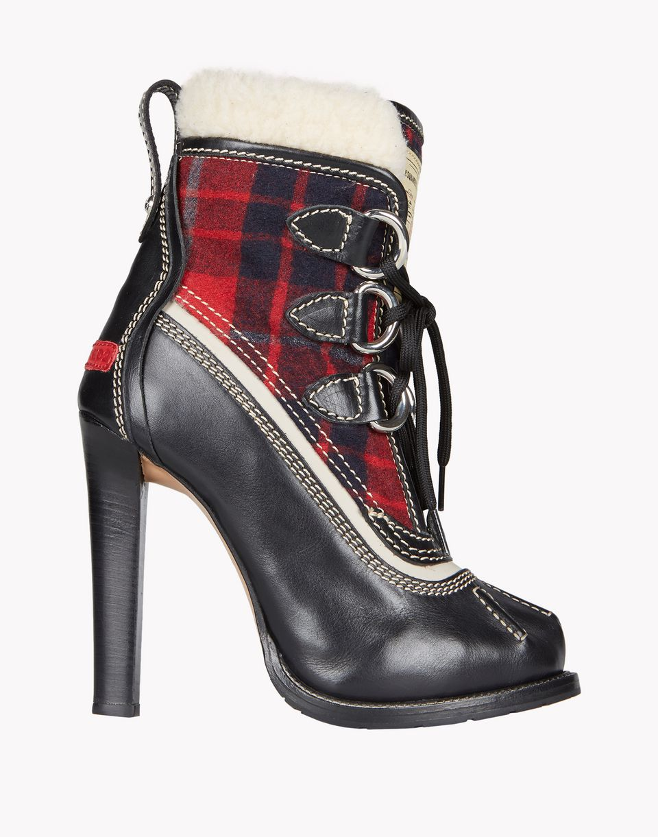duck ankle boots shoes Woman Dsquared2