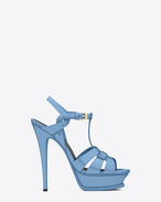 Classic TRIBUTE 105 Sandal in Light Blue Patent Leather