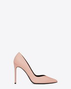 Classic PARIS SKINNY 105 ESCARPIN V Pump in Pale Blush Leather