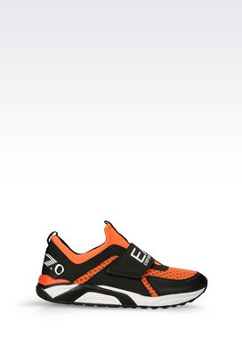 Armani Footwear Men sneaker in technical fabric