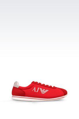 Armani Sneakers Für Ihn sneaker aus funktionsmaterial mit logo