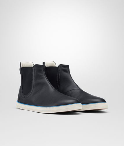 HIGHTOP SNEAKER IN DARK NAVY CALF