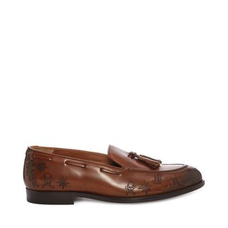 ALEXANDER MCQUEEN, Loafer, Lasercut Tattoo Loafer