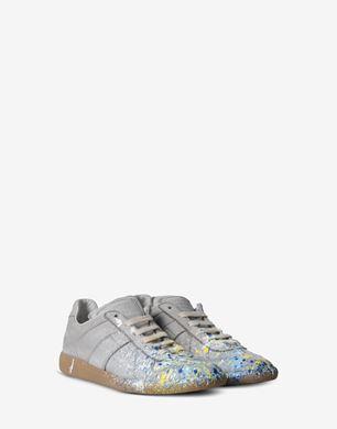 Maison Margiela Replica' sneakers in 'Paint drop' calfskin