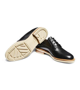 ERMENEGILDO ZEGNA: Laced Shoes Black - 44955009UX
