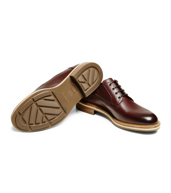 ERMENEGILDO ZEGNA: Laced Shoes Dark brown - 44955018RD