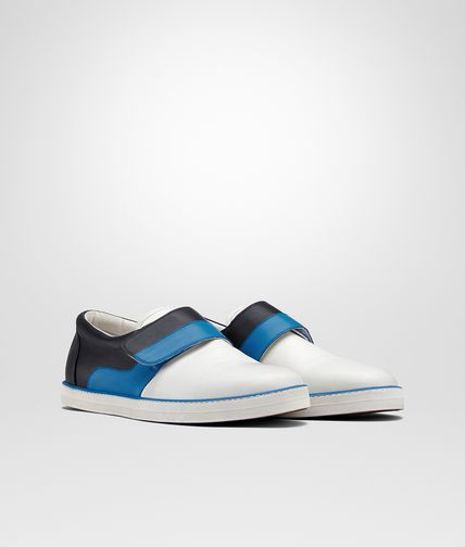 SNEAKER IN BIANCO BLUETTE DARK NAVY CALF