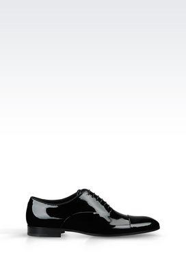 Armani Lace-up shoes Men patent oxford