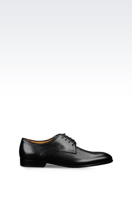 Armani Lace-up shoes Men calfskin derby