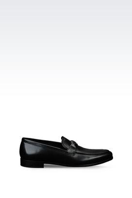 Armani Loafers Men calfskin loafer