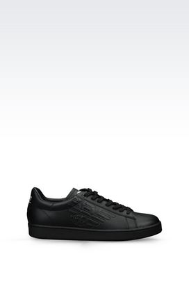 Armani Footwear Men leather sneaker