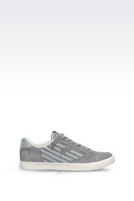 Armani Footwear Men suede sneaker