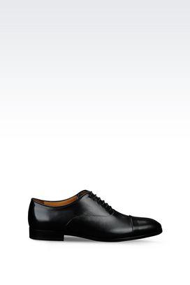 Armani Lace-up shoes Men calfskin brogue
