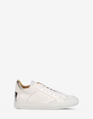Calfskin low top sneakers