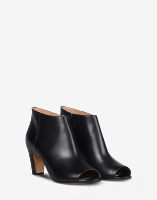 Maison Margiela Brushed calfskin open-toed ankle boots