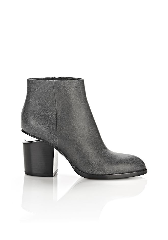 ALEXANDER WANG Boots Women GABI DISTRESSED BOOTIE WITH RHODIUM