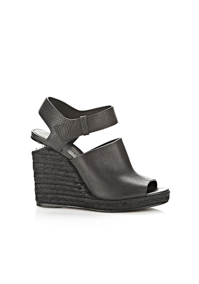 ALEXANDER WANG Heels Women TORI ESPADRILLE WEDGE WITH RHODIUM