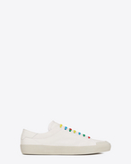 Signature COURT CLASSIC SURF SL/37 Sneaker in Off White Canvas