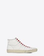 Sneakers Signature COURT CLASSIC SURF SL/37M color bianco sporco in pelle effetto usato