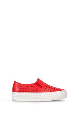 Armani Sneakers Women leather slip-ons