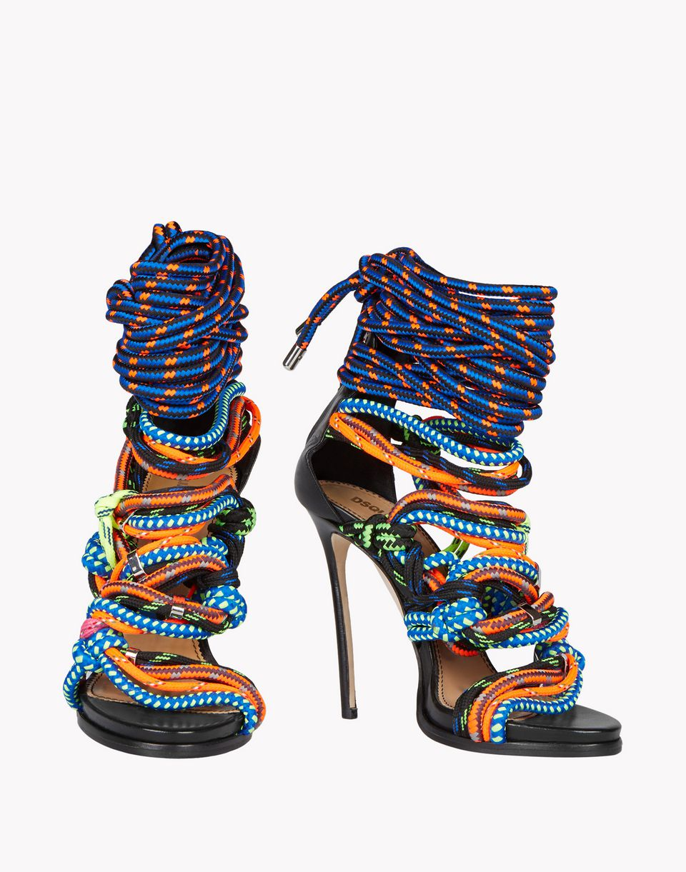 Dsquared2 Techno Japan Sandals High Heeled Sandals Women
