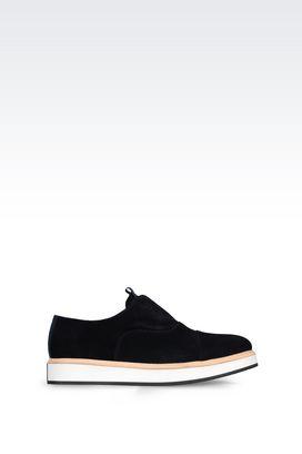Armani Lace-up shoes Men suede brogue