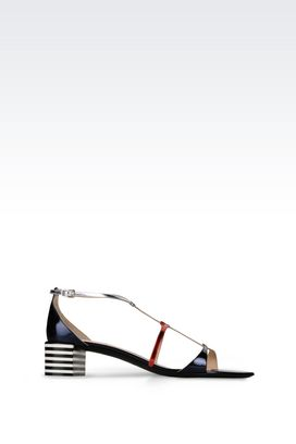 Armani High-heeled sandals Women calfskin sandal