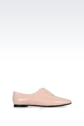 Armani Lace-up shoes Women calfskin brogue