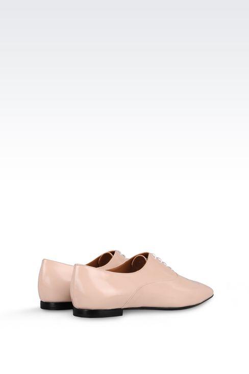 CALFSKIN BROGUE: Lace-up shoes Women by Armani - 3