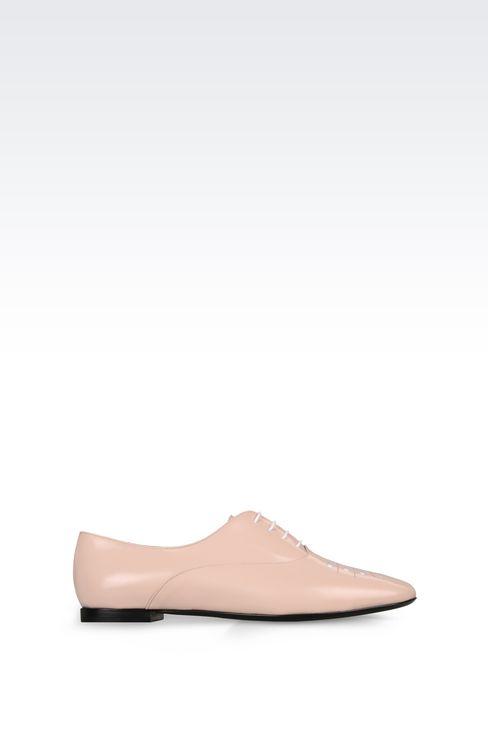 CALFSKIN BROGUE: Lace-up shoes Women by Armani - 1