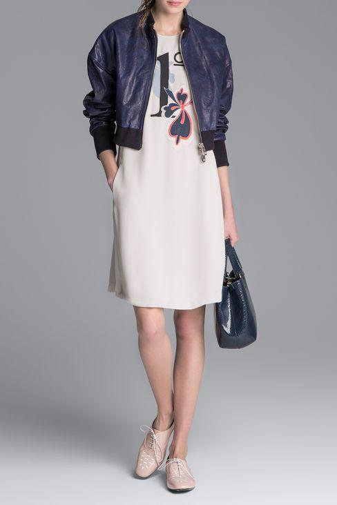 CALFSKIN BROGUE: Lace-up shoes Women by Armani - 2