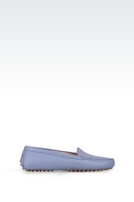 Armani Loafers Women driving shoe in calfskin