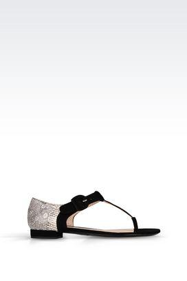 Armani Flip flops Women leather sandal