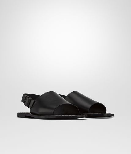 SANDAL IN NERO CALF