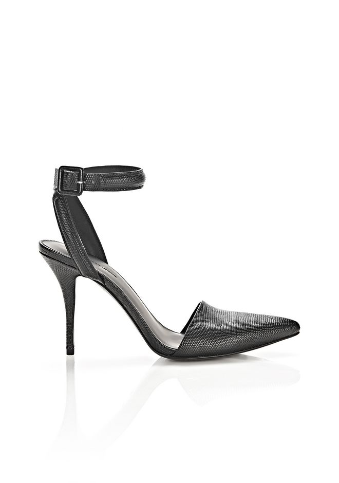 ALEXANDER WANG Heels Women LOVISA LIZARD EMBOSSED PUMP