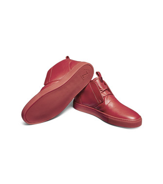 ZZEGNA: Sneakers Red - 44979170GS