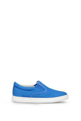 Armani Sneakers Men canvas slip-on