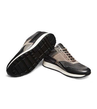 ZZEGNA: Sneakers Dark brown - 44979868PX