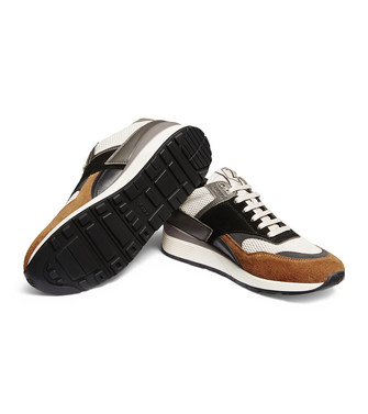 ZZEGNA: Sneakers Dark brown - 44979869BJ