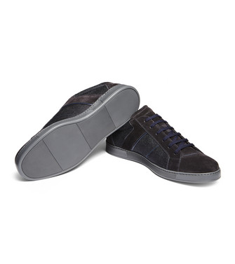 ERMENEGILDO ZEGNA: Sneakers Light grey - 44979985JL