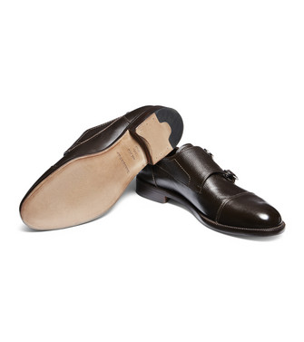 ERMENEGILDO ZEGNA: Loafers Dark brown - 44980010AU