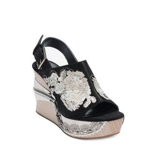 ALEXANDER MCQUEEN, Sandals, Embroidered Clog