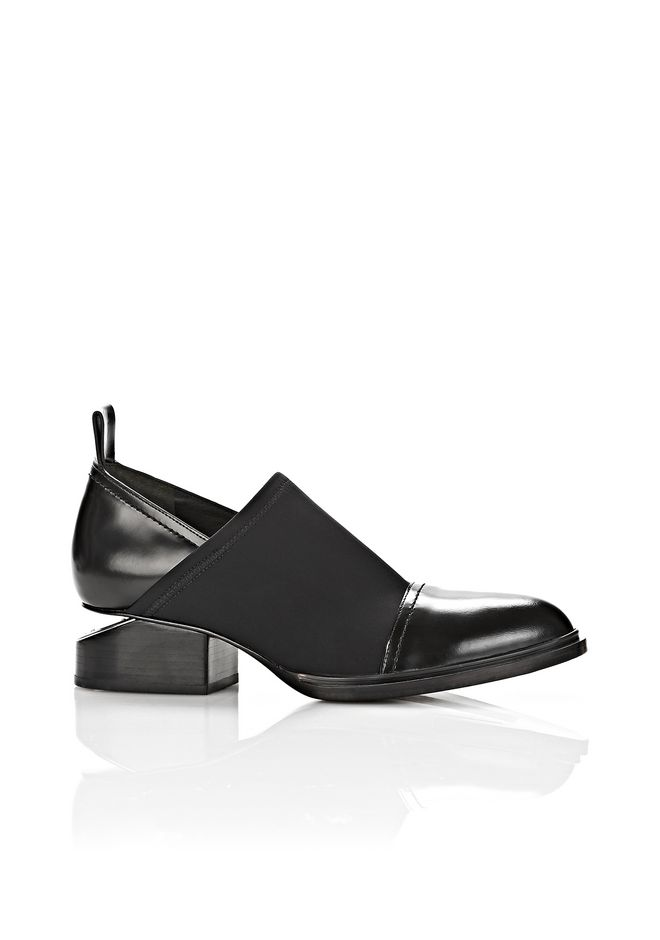 ALEXANDER WANG FLATS Women EXCLUSIVE NEOPRENE KORI OXFORD WITH RHODIUM