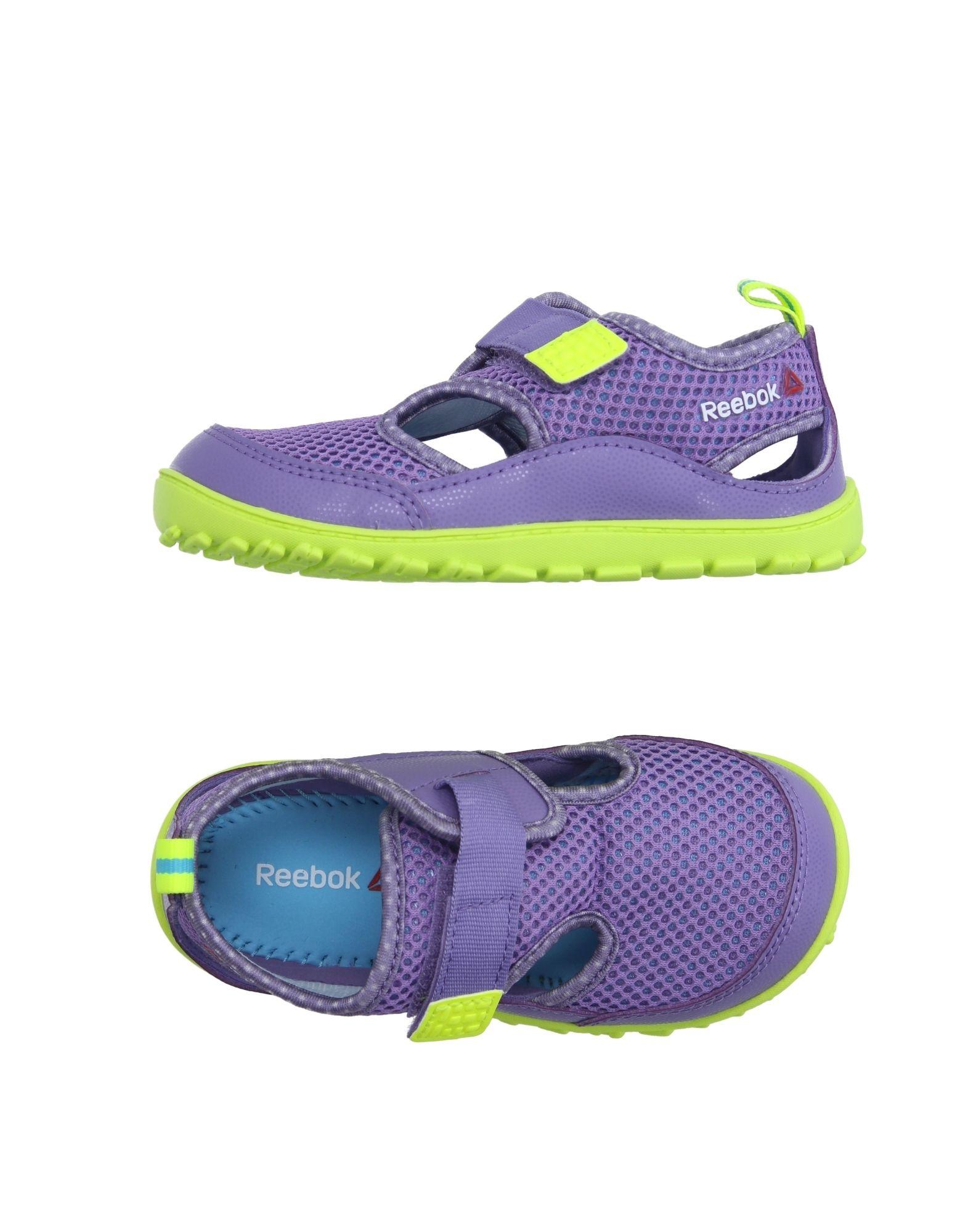 REEBOK Mädchen 0-24 monate Low Sneakers & Tennisschuhe Farbe Lila Größe 3