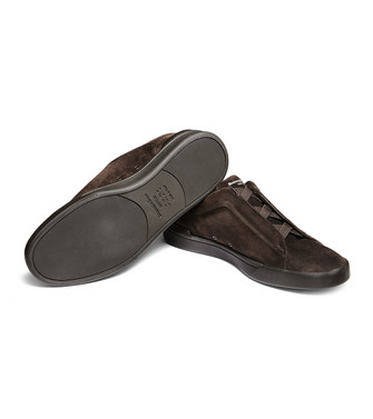 ERMENEGILDO ZEGNA: Sneakers Dark brown - 44992029DX