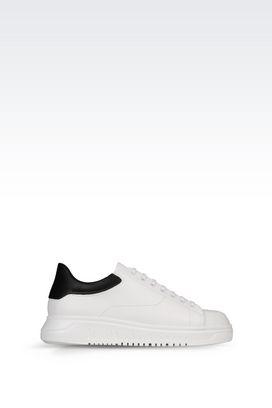 Armani Sneakers Men leather sneaker